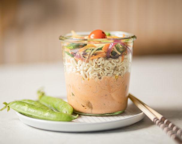Bocal thaï végétarien