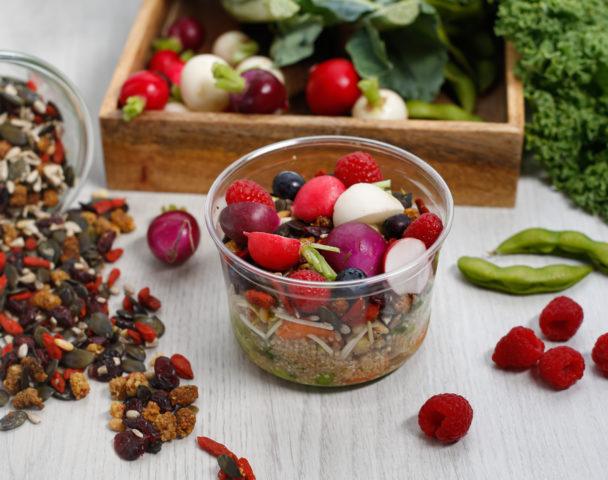 Moyenne salade summer superfood