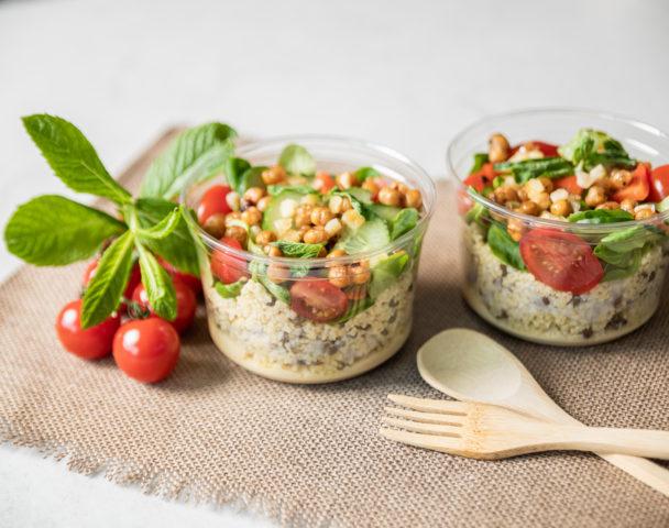 Moyenne salade libanaise