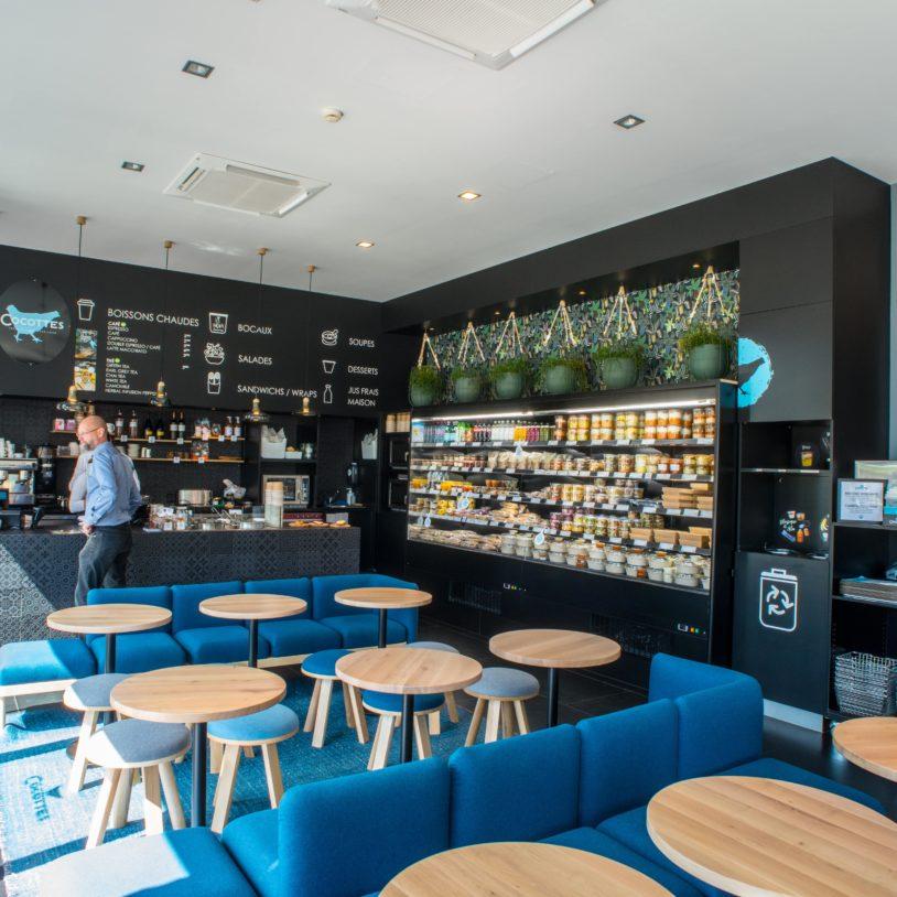 Nouvelle boutique au Kirchberg