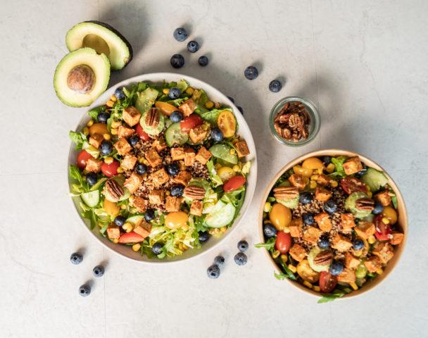 Grande salade végane