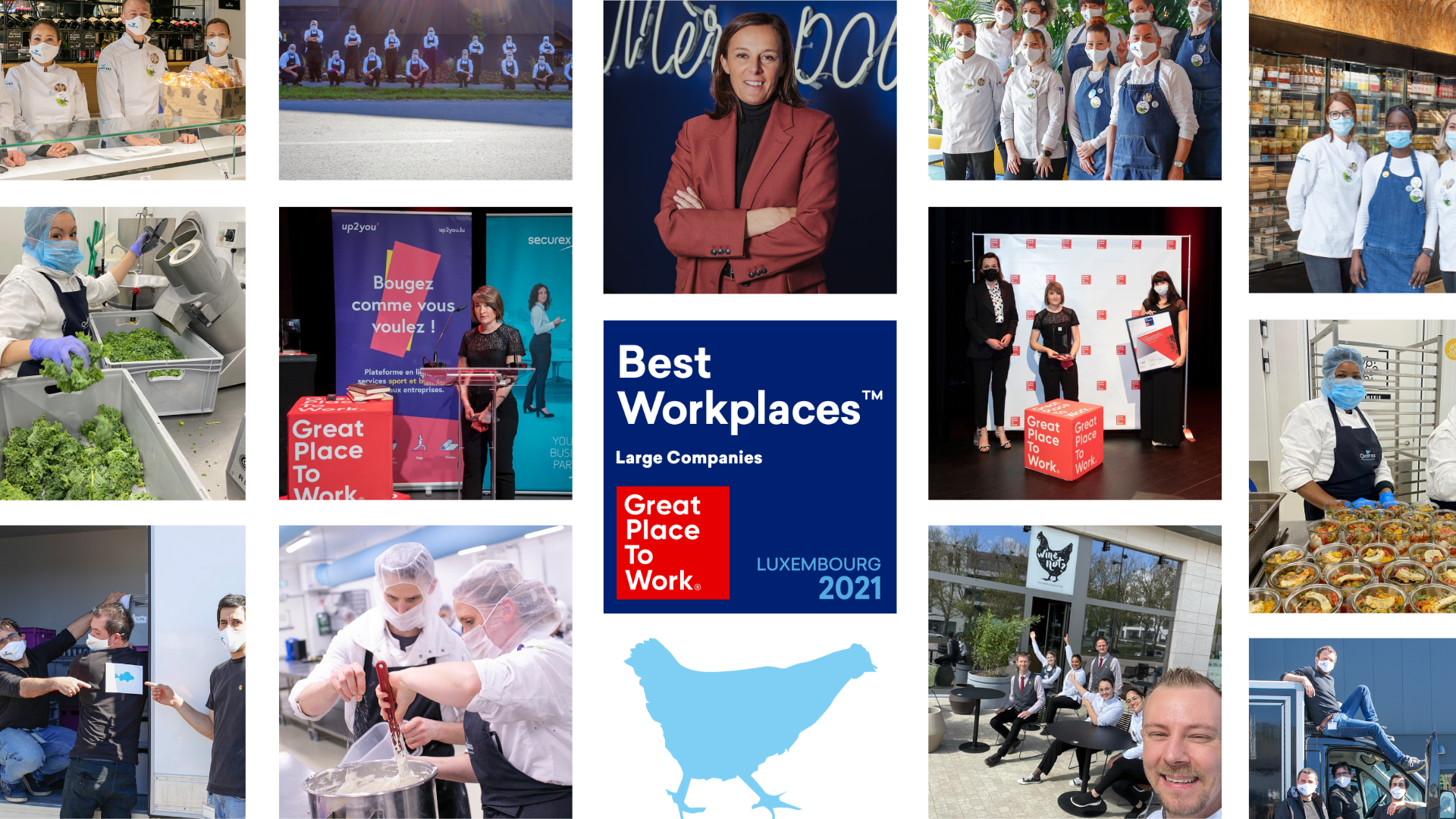 Great places to work