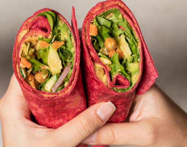Wrap vegan color